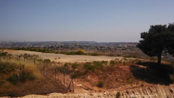 Israel Jerusalem Gilo from HarGilo HaMirpeset lookout point