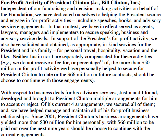Bill Clinton Inc
