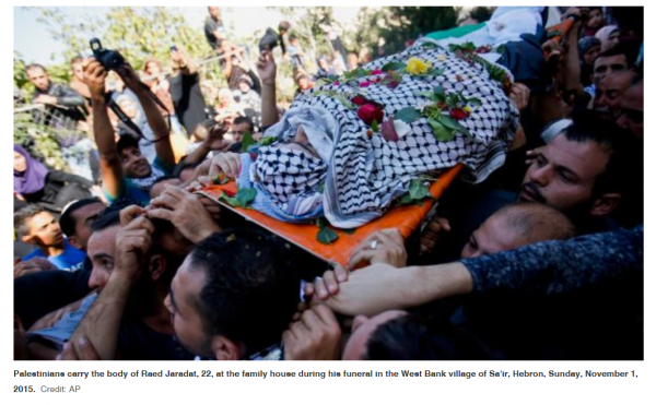 Funeral | West Bank | Credit: Haaretz