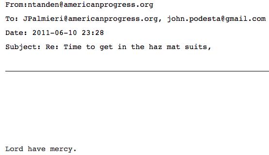 Tanden Weiner Podesta Emails