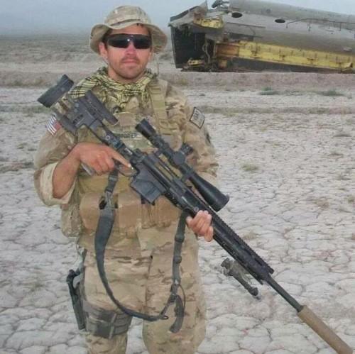 Christopher Horton Afghanistan w Rifle