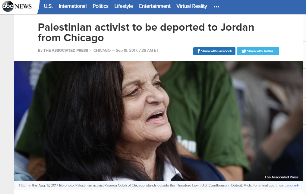 http://abcnews.go.com/US/wireStory/palestinian-activist-deported-jordan-chicago-49944416