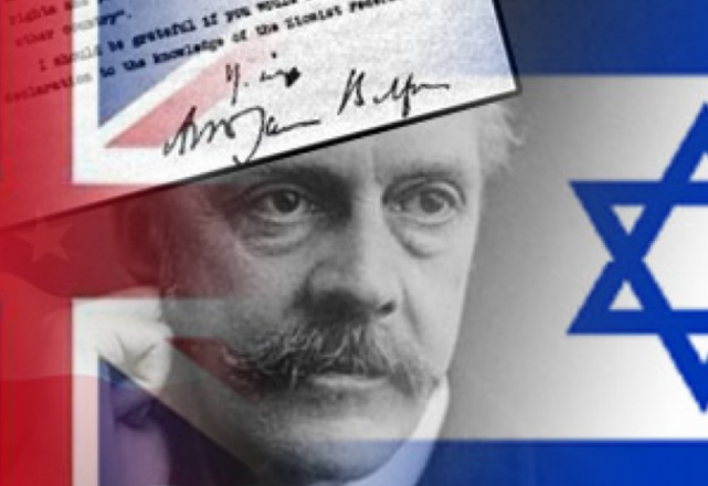 balfour declaration The british peer arthur balfour barely makes an appearance in uk schoolbooks, but many israeli and palestinian students could tell you about him his balfour declaration, made on 2 november 1917, is taught in their respective history classes and forms a key chapter in their two very different .