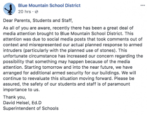 https://www.facebook.com/Blue.Mountain.School.District/?hc_ref=ARTe07Xo1t-_EAHWTtWd7TJmYKz37eHVEeSNpqkPt5IVIlMz1NDVlAnrgJZbzdz2MPk&fref=nf