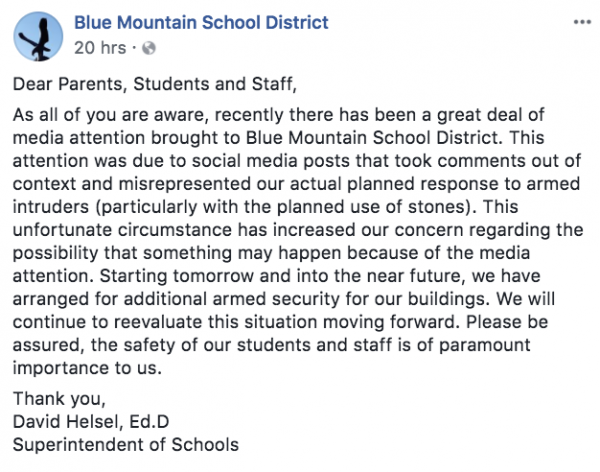 https://www.facebook.com/Blue.Mountain.School.District/?hc_ref=ARTe07Xo1t-_EAHWTtWd7TJmYKz37eHVEeSNpqkPt5IVIlMz1NDVlAnrgJZbzdz2MPk&fref=nf