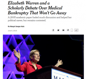 https://www.nytimes.com/2018/06/06/upshot/elizabeth-warren-and-a-scholarly-debate-over-medical-bankruptcy-that-wont-go-away.html