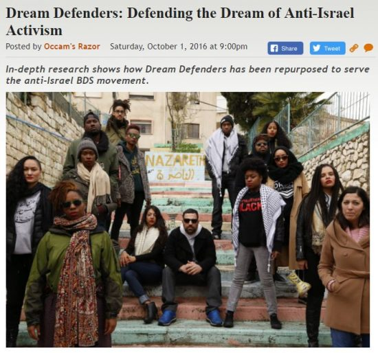 https://legalinsurrection.com/2016/10/dream-defenders-defending-the-dream-of-anti-israel-activism/