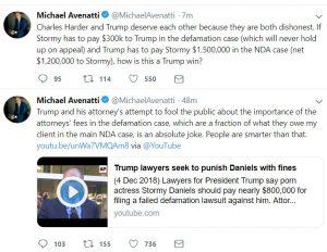 https://twitter.com/MichaelAvenatti/status/1072603572133654529