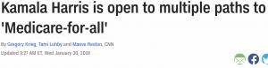 https://www.cnn.com/2019/01/29/politics/kamala-harris-medicare-for-all-eliminate-private-insurers-backlash/