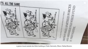 https://www.algemeiner.com/2019/02/13/destroy-israeli-forces-free-palestine-posters-target-hillel-building-at-tufts-university/
