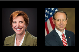 gov photos: https://upload.wikimedia.org/wikipedia/commons/thumb/e/e8/Rod_Rosenstein_official_portrait_2.jpg/220px-Rod_Rosenstein_official_portrait_2.jpg; https://www.cdc.gov/about/leadership/leaders/ncird.html